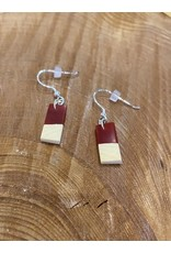 Timber & Tides Timber & Tides Earrings Red Yellow Cedar II