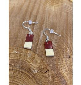 Timber and Tides Timber & Tides Earrings Red Yellow Cedar II