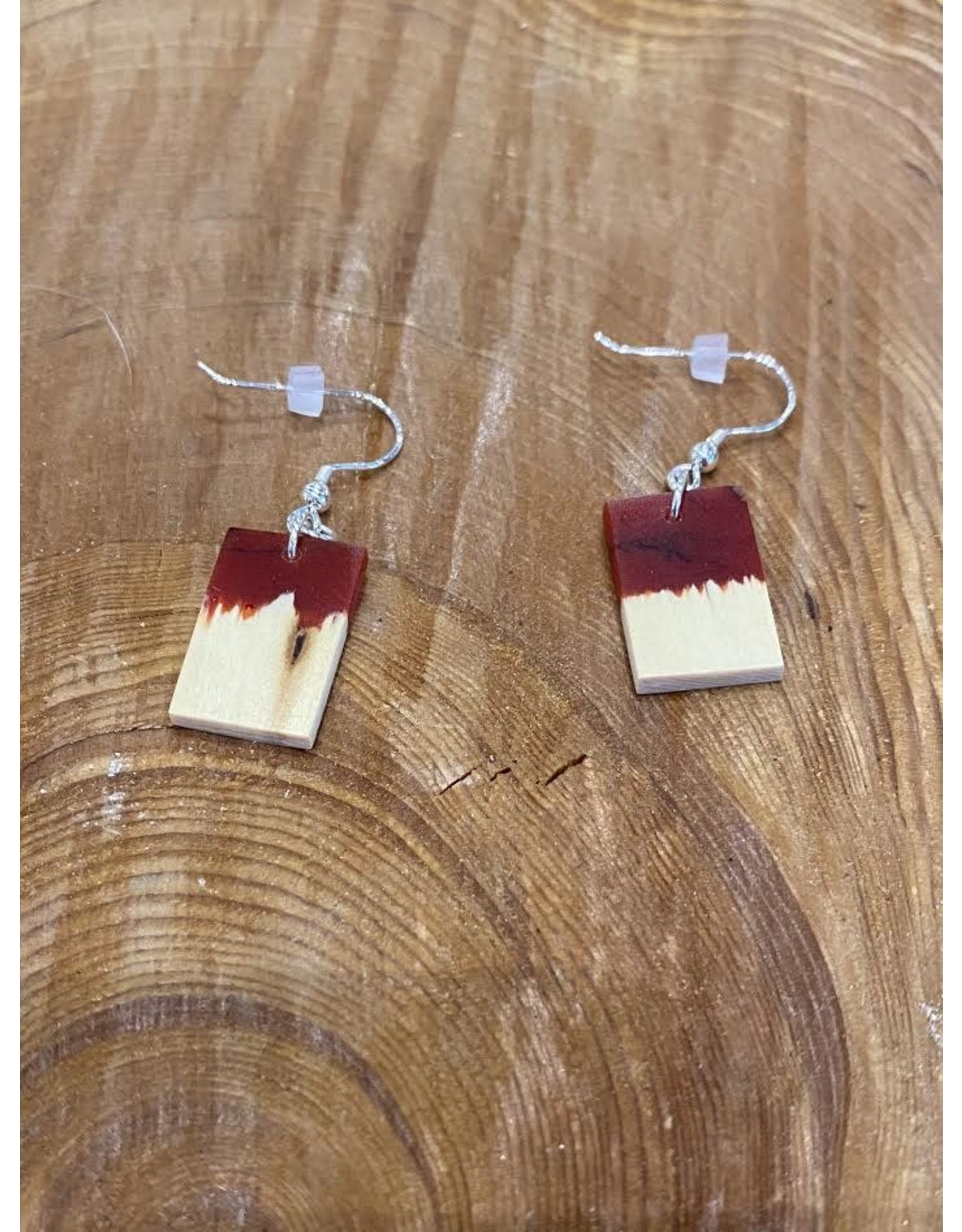 Timber & Tides Timber & Tides Earrings Red Yellow Cedar III