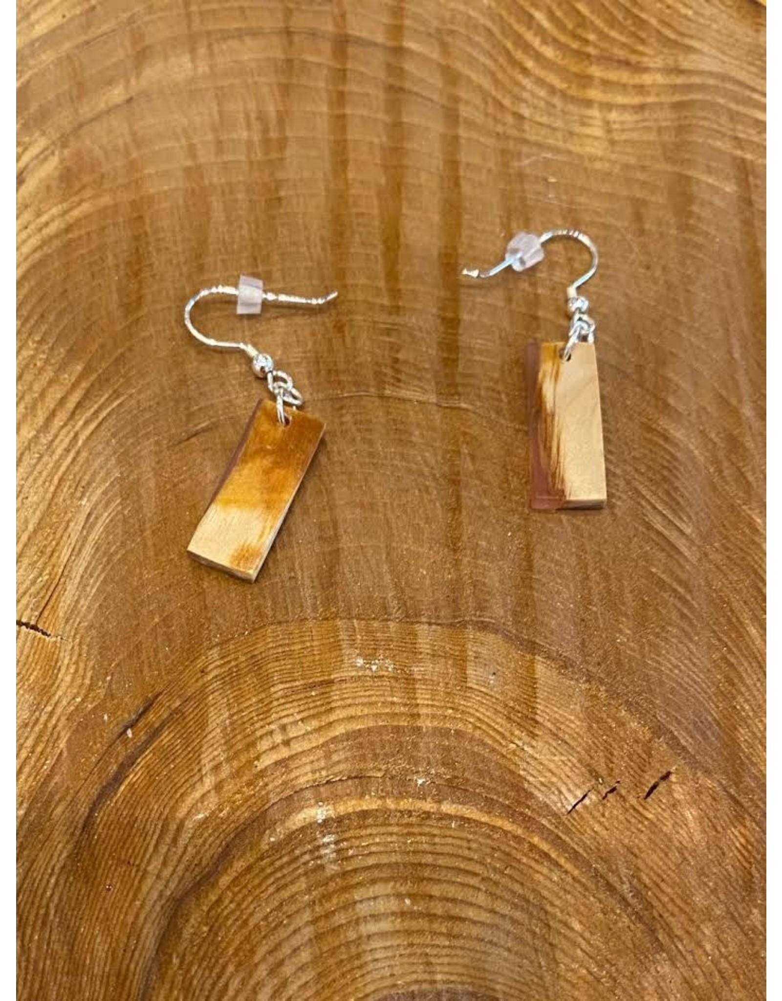 Timber and Tides Timber & Tides Earrings Orange Alder