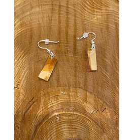 Timber and Tides Timber & Tides Earrings Orange Alder