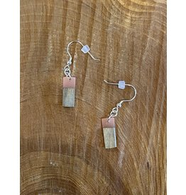 Timber & Tides Timber & Tides Earrings Pink Driftwood II