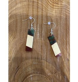 Timber & Tides Timber & Tides Earrings Multi Yellow Cedar III