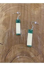 Timber & Tides Timber & Tides Earrings Green Yellow Cedar III