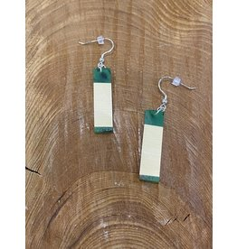 Timber and Tides Timber & Tides Earrings Green Yellow Cedar III