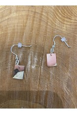 Timber & Tides Timber & Tides Earrings Coral Driftwood