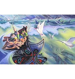 Arnie Weimer Alaskan Halibut Tail Tale