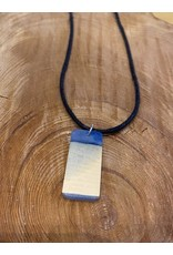 Timber & Tides Timber & Tides Necklaces Blue Rectangle