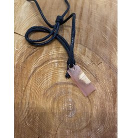 Timber & Tides Timber & Tides Necklaces Orange Rectangle