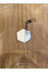 Timber & Tides Timber & Tides Zipper Pull Hexagon
