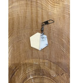 Timber & Tides Timber & Tides Zipper Pull Hexagon