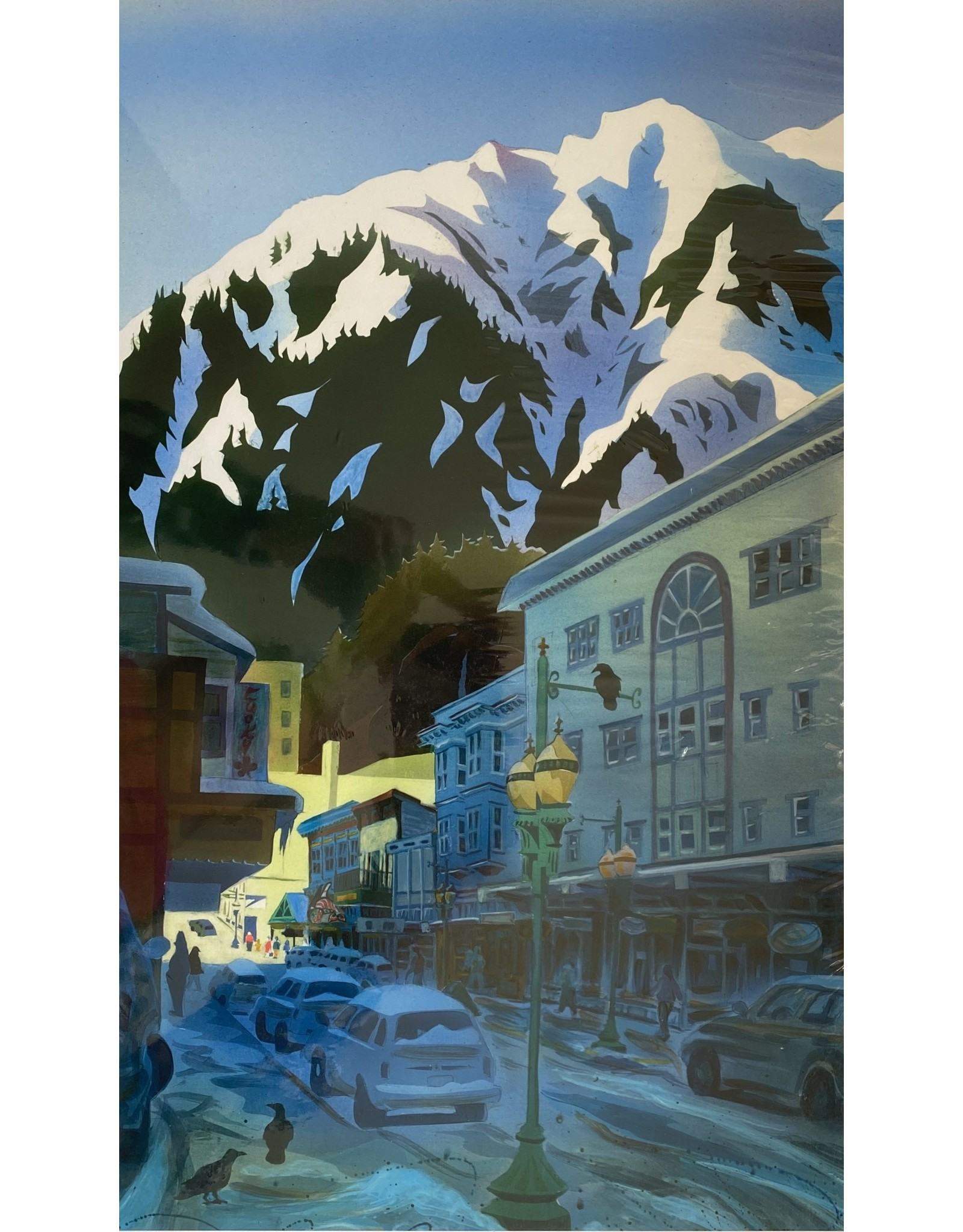 Arnie Weimer Snow Capped Juneau | Arnie Weimer