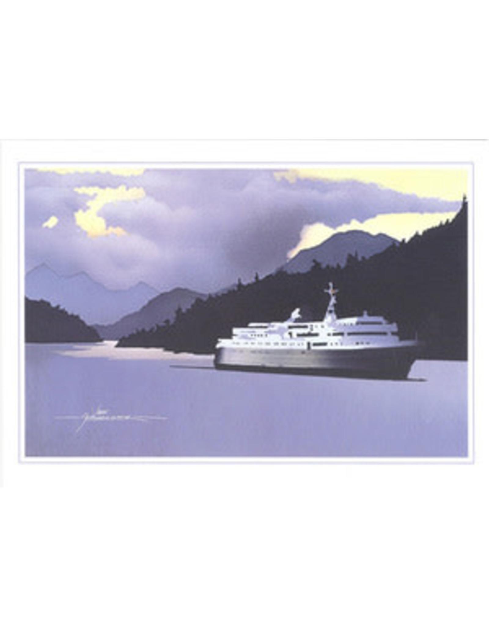 John Fehringer Inside Passage (art card)   John Fehringer
