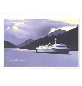 """John Fehringer John Fehringer """"Inside Passage"""" Art Card"""