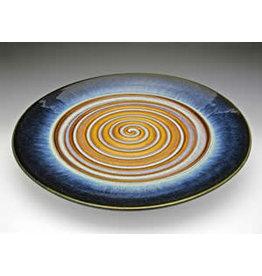 Bill Campbell Swirl Platter