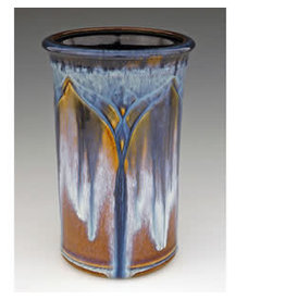 Bill Campbell Carved Utensil Holder