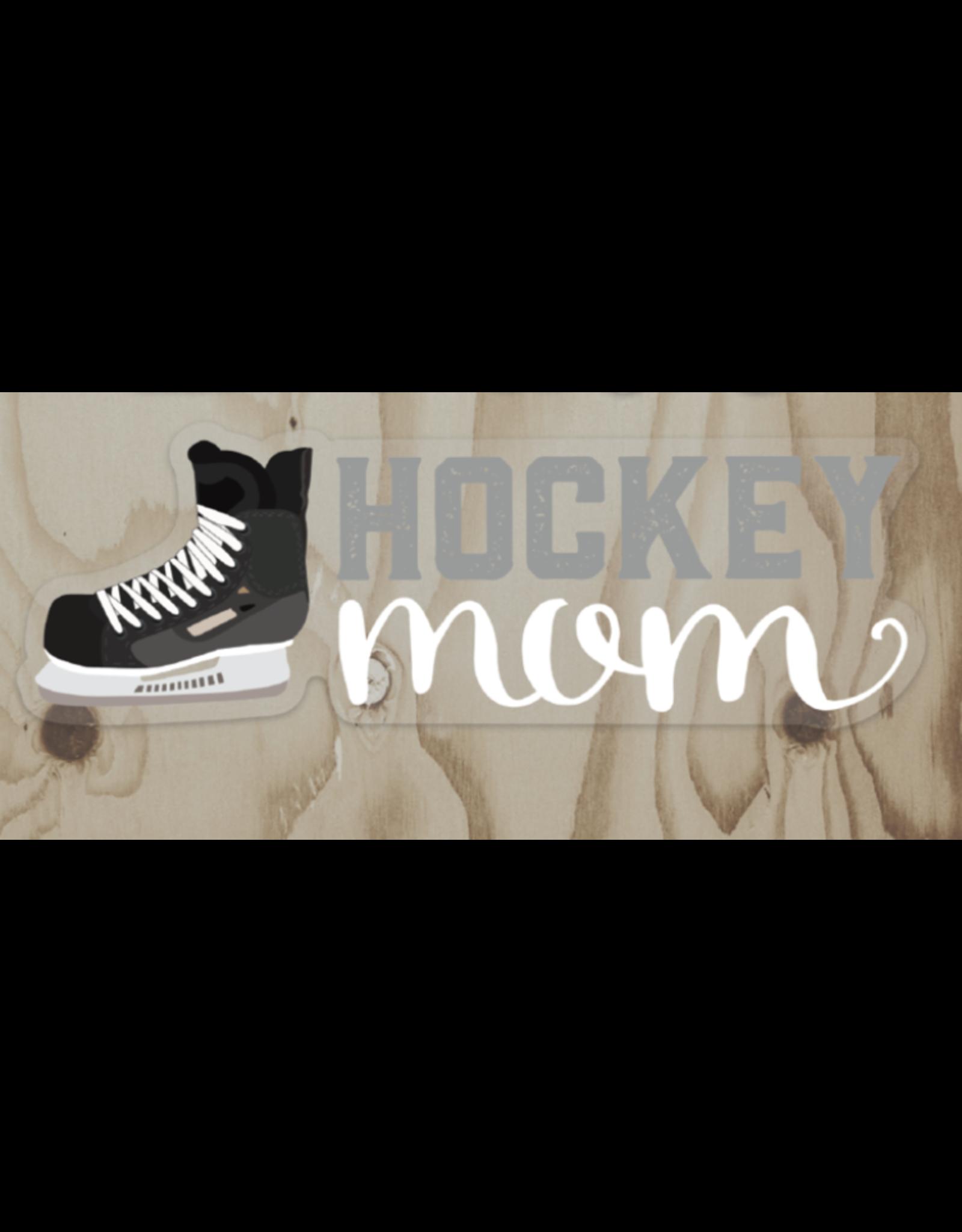 Wren & the Raven Sticker (hockey mom)   Wren and the Raven