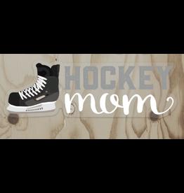 Wren & the Raven Sticker (hockey mom)