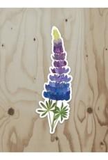 Wren & the Raven Sticker (lupine)   Wren and the Raven