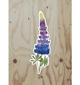 Wren & the Raven Sticker (lupine)
