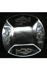Northwest Pewter Northwest Pewter 4 Fish Plate