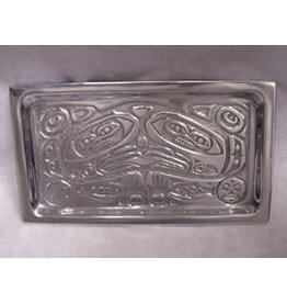 Northwest Pewter Northwest Pewter Totem Cheese Tray