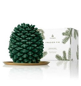 Thymes Thymes Frasier Fir Molded Pinecone Candle - Petite