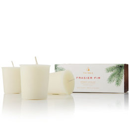 Thymes Thymes Frasier Fir Votive Candle Set