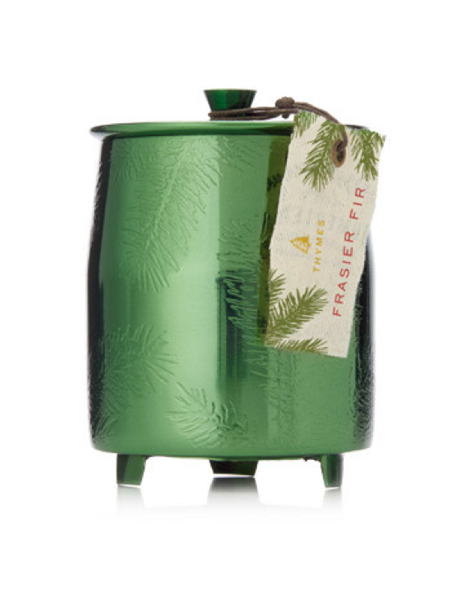 Thymes Thymes Frasier Fir Candle Green Tin, med