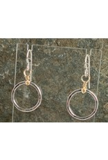 "Moondance Alaska by Colleen Goldrich Moondance ""O"" Earrings MixMetal Small"