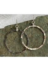 "Moondance Alaska by Colleen Goldrich Moondance ""O"" Earrings SS Xlarge"