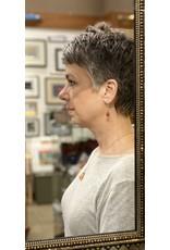 Moondance Alaska by Colleen Goldrich Moondance Earrings Carnelian, Turquoise, Sunstone, 14k gold&rose-gold-fill
