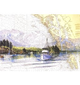 "Brenda Schwartz Brenda Schwartz-Yeager ""The Alaskan"" Art Card"