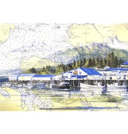 Brenda Schwartz Yeager Petersburg Waterfront (art card)