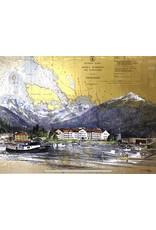 Brenda Schwartz Yeager Sitka Waterfront (art card) | Brenda Schwartz-Yeager