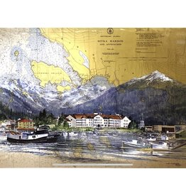 Brenda Schwartz Yeager Sitka Waterfront (art card)