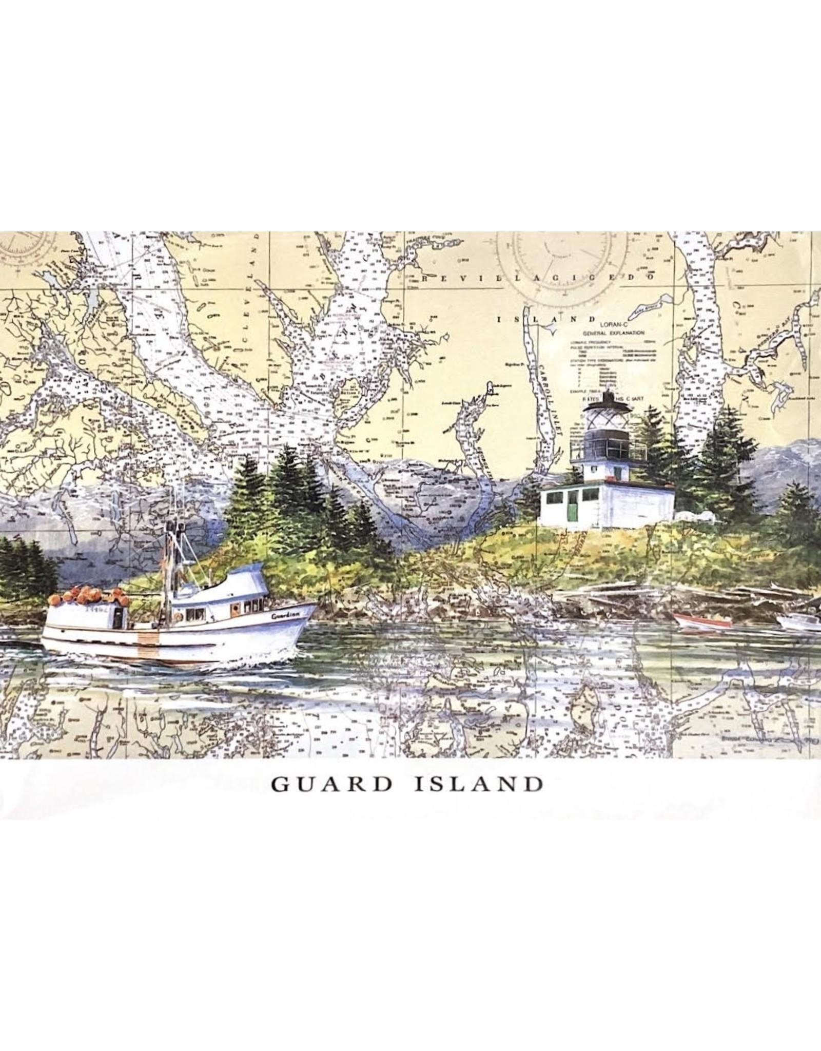 Brenda Schwartz Guard Island (art card) | Brenda Schwartz-Yeager