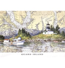 Brenda Schwartz Guard Island (art card)