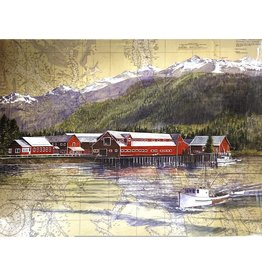 "Brenda Schwartz Brenda Schwartz-Yeager ""Cannery Point"" Art Card"