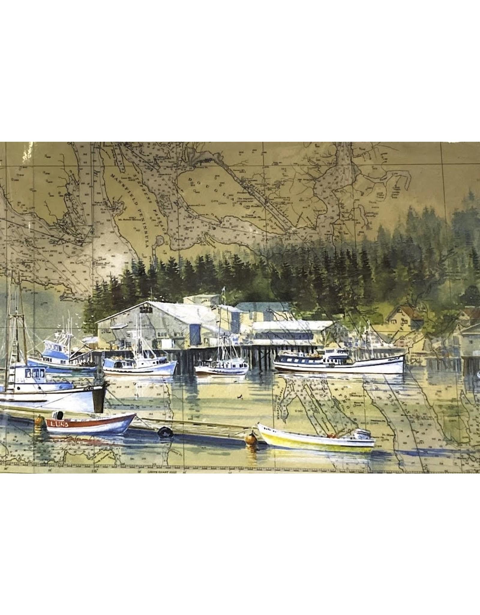 """Brenda Schwartz Brenda Schwartz-Yeager """"Home Port"""" Art Card"""