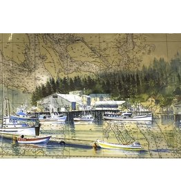 Brenda Schwartz Yeager Home Port (art card)