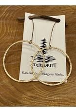 Tidal Drift Tidal Drift Earrings - Dangle Hoops Large