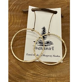 Tidal Drift Tidal Drift Earrings - Dangle Hoops Large