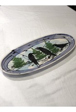 Donna Toohey Oval Elongated Platter | Donna Toohey