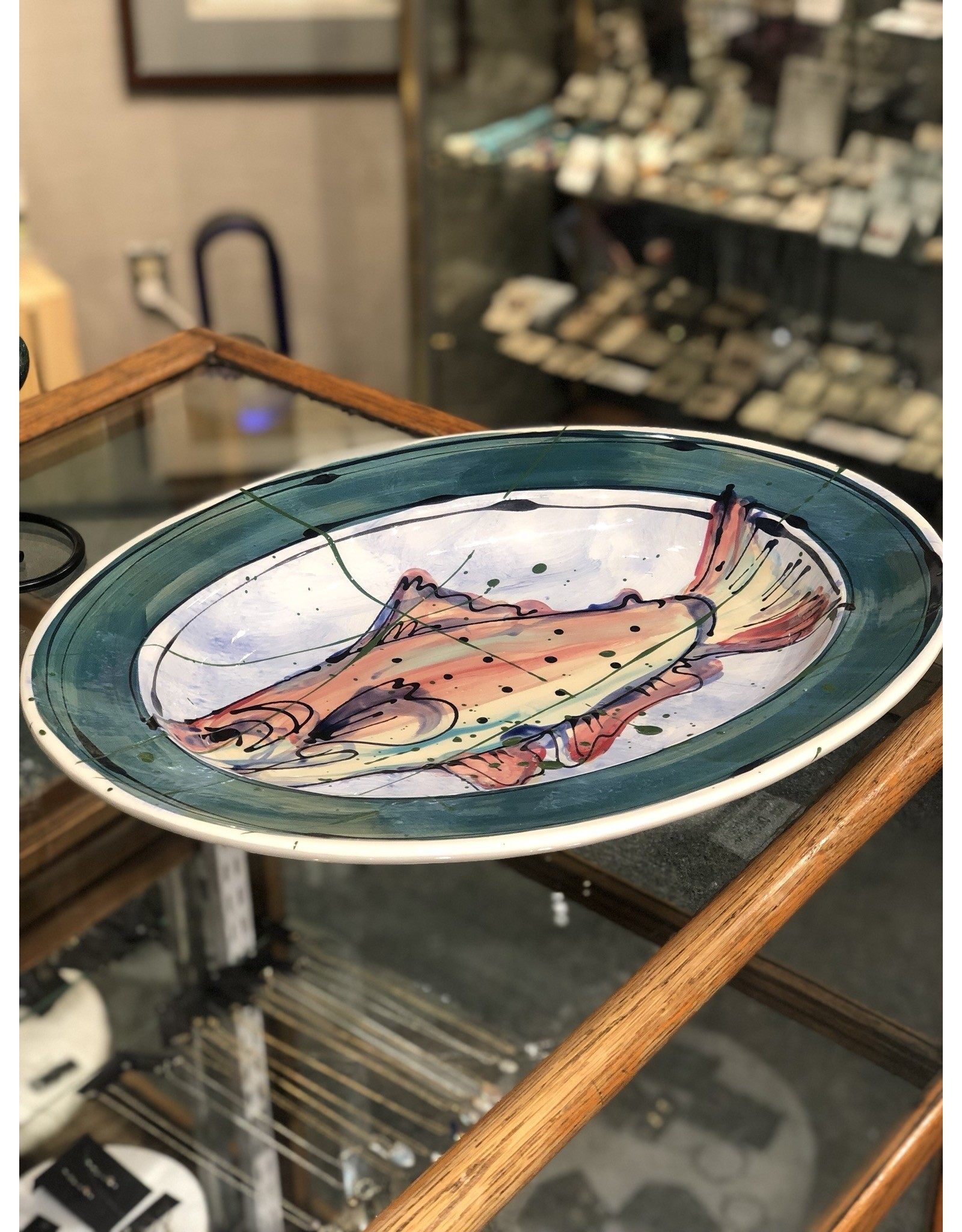 Donna Toohey Donna Toohey Oval Platter