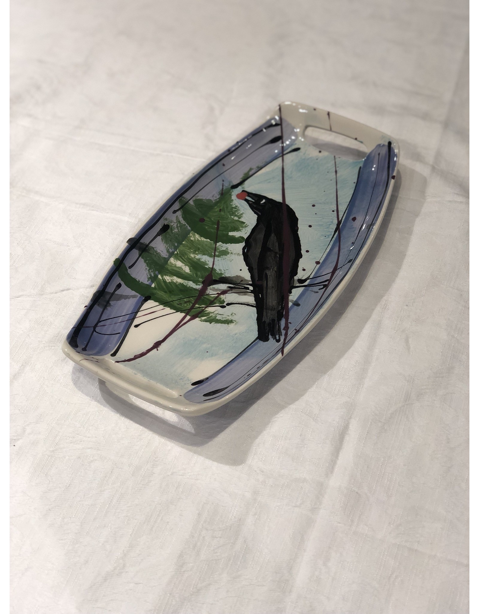 Donna Toohey Donna Toohey Scoop Tray Raven