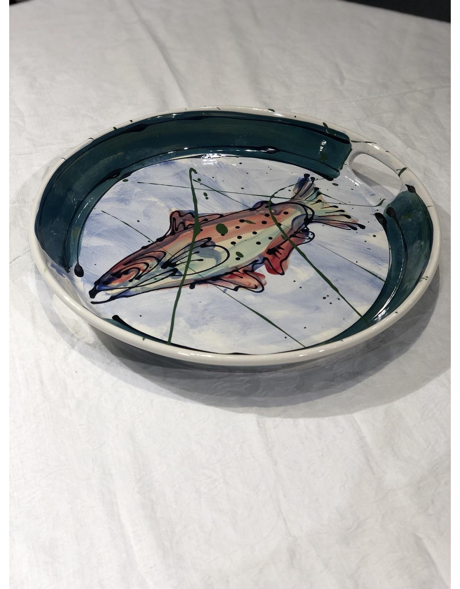 Donna Toohey Large Round Tray | Donna Toohey