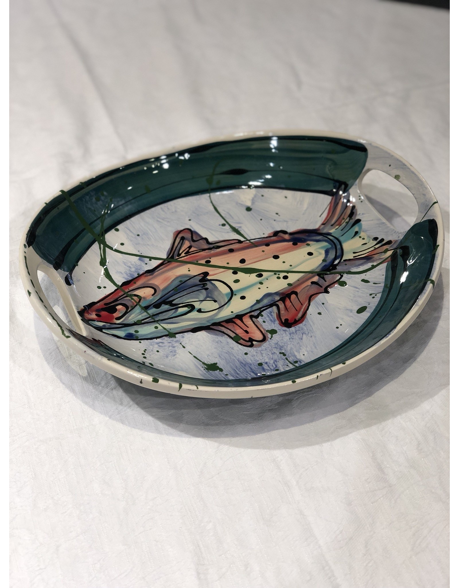 Donna Toohey Donna Toohey Round Scoop Tray