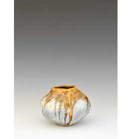 Stellar Art Pottery Forget-Me-Not Vase