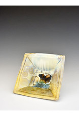 Stellar Art Pottery Stellar Art Pottery Summer Fun Square Serving Bowl